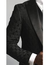 Satin Black Fancy Designed