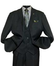 Black Notch Lapel Single