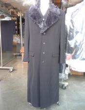 Vested Maxi Coat Microfiber