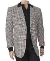 Peal Lapel Houndstooth