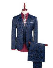 1 Button Tailoring Floral