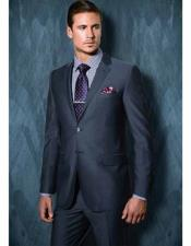 Notch Lapel Blue