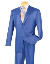 Breasted Blue Glen Plaid