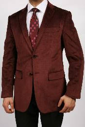 ID#KA1153 Cheap Priced Online Wedding Burgundy Prom ~ Maroon ~ Wine Color Luxurious Velvet Highlights Best Cheap Mens Blazer Affordable Unique Fancy For Men Available Big Sizes on sale Men Affordable Sport Coats Sale