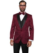 Burgundy Prom  Notch