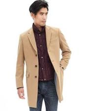 3 Button Camel Cashmere