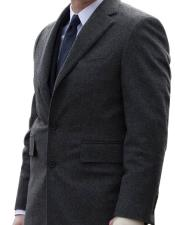 Notch Lapel Dark Charcoal