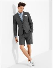 Charcoal Grey Suit For