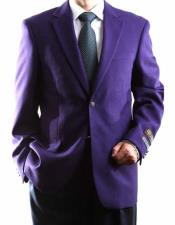 ID#NM1304 Men's  Egg Plant Big & Tall No Vent Sport 2 Buttons Best Cheap Blazer For Affordable Cheap Priced Unique Fancy For Men Available Big Sizes on sale Men Affordable Sport Coats Sale