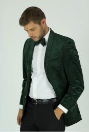 Fit Green Velvet Trim