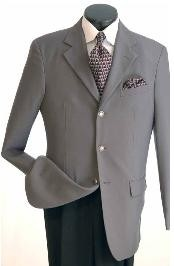 Single Breasted Grey Sportcoat