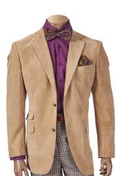 Breasted Sueded Notch Lapel