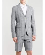 Gray Business Suit For