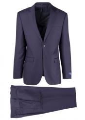Breasted Navy Notch lapel