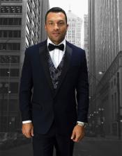 d71d0c179482 Statement Suits For Men, 3 Piece Tuxedo, Shawl Lapel Suit