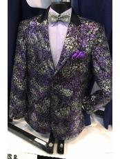 ID#DB20453  Purple Fancy Best Cheap Blazer For Affordable Cheap Priced Unique Fancy For Men Available Big Sizes on sale Men Jacket Affordable Sport Coats Sale