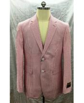 2 Button Seersucker Suit
