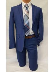 Slim Fit Notch Lapel