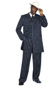 Breasted Three Piece Suit