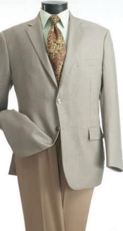 Single-Breasted Sportcoat Jacket Wheat
