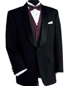 ID#YK713 Dark color black Dinner Jacket Man Made Fiber Single Buttons Shawl Collar Tuxedo / Graduation Homecoming Outfits