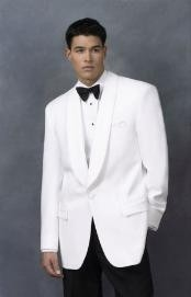 White Dinner Jacket Man