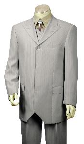 Buttons Grey Fashion Vested