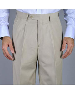 Single Pleated Pants