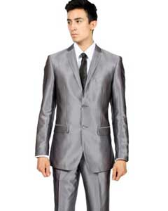 Gray Shiny Suits