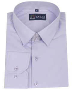 ID#RQ8453 Dress Cheap Fashion Clearance Shirt Sale Online For Men Slim Fit Lavender