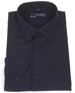 Dress Cheap Fashion Clearance Shirt Sale Online For Men Slim Fit - Dark navy blue colored