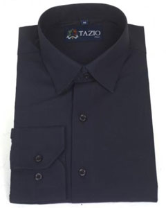 ID#EG3156 Dress Cheap Fashion Clearance Shirt Sale Online For Men Slim Fit Navy