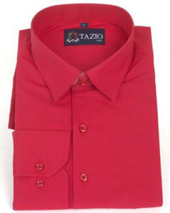 ID#RF4896 Dress Cheap Fashion Clearance Shirt Sale Online For Men Slim Fit Red Prom pastel color