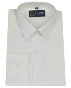 Shirt Slim Fitted White