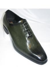 Men Green Shoe