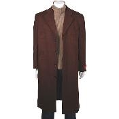 Classic single breasted overcoats