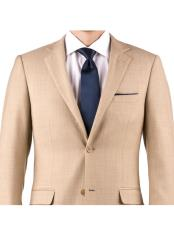 Sharkskin Slim Fit Notch
