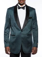 ID#DB23894 Fancy Designed Teal Shawl Lapel Tuxedo Best Cheap Blazer For Affordable Cheap Priced Unique Fancy For Men Available Big Sizes on sale Men Affordable  Sport Coats Sale