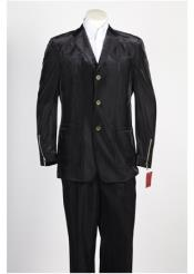 ID#NM410 Mens  3 Button Suit