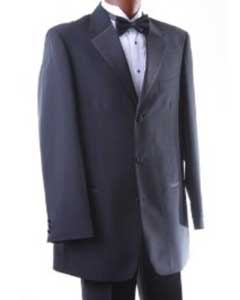 ID#KH696  Three Button Dark color black Tuxedo