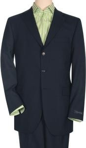 Three Button Wool Suit