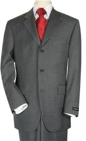 buttonsStyle Dark Charcoal Suit