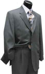 ID# ZTL-77 Light Gray Superior fabric 120 Wool fabric Three buttons Suits for Men