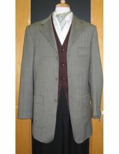 Testardi 95% Wool,5% Cashmere 3 Button Grey Check Pattern Jacket Best Cheap Blazer For Affordable Cheap Priced Unique Fancy For Men Available Big Sizes on sale Men Affordable Sport Coats Sale