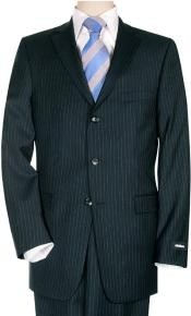 Dark Navy Pinstripe Business