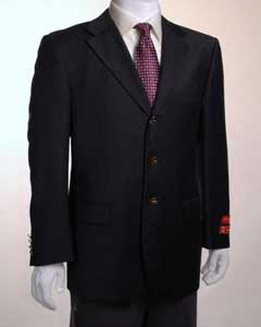 ID#PJ522 Jacket / Best Cheap Blazer For Affordable Cheap Priced Unique Fancy For Men Available Big Sizes on sale Men Affordable Sport Coats Sale Three buttons Vented Basic All Solid Outfit Plain Dark color black Wool fabric