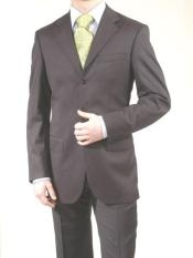 Dark Charcoal Masculine color Three buttons Dress Business Reduced Price Big and Tall Large Man Plus Size - Color: Dark Grey Suit
