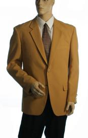 ID#GXS232  Available in Three buttons Style Jacket Basic Solid Plain Gold Jacket Best Cheap Blazer For Affordable Cheap Priced Unique Fancy For Men Available Big Sizes on sale Men Affordable Sport Coats Sale