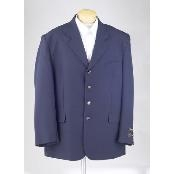 navy blue colored Sportcoat