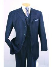 Buttons 3 Piece Suits
